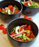 Salad cà chua, dưa chuột