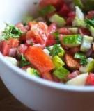Salad cà chua và dưa leo