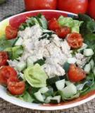 Salad cá ngừ dễ làm dễ ăn