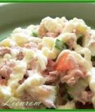 Salad cá và mayonnaise