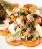 Salad cua dưa lưới xanh