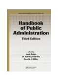 Handbook of Public Administration, Third Edition