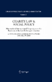 Charity Law & Social Policy National and International Perspectives on the Functions of the Law Relating to Charities