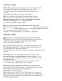 Bài tập về trái phiếu