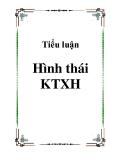 Tiểu luận về Hình thái KTXH