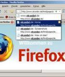 5 lý do để chọn Firefox 3.0