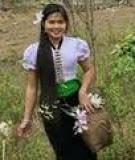 Bí quyết cho mái tóc bóng mượt của thiếu nữ Thái