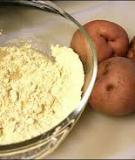Mịn da và dưỡng ẩm chỉ với mặt nạ khoai tây