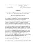 Quyết định số 2537/QĐ-BGTVT