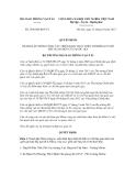 Quyết định số 2596/QĐ-BGTVT