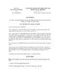 Quyết định số 282/QĐ-QLD