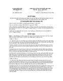Quyết định số 1850/QĐ-UBND