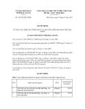 Quyết định số 34/2012/QĐ-UBND