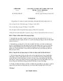 Nghị định số 80/2012/NĐ-CP