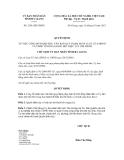 Quyết định số 2101/QĐ-UBND