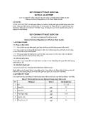 Quy chuẩn số 2012/BTNMT