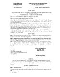 Quyết định số 4789/QĐ-UBND