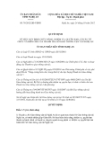 Quyết định số 78/2012/QĐ-UBND