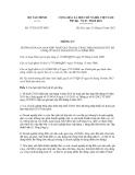 Thông tư số 175/2012/TT-BTC