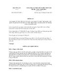 Thông tư số 63/2012/TT-BCA