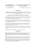 Quyết định số 2502/QĐ-BNN-KHCN
