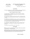 Quyết định số 1610/QĐ-TCT