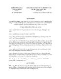 Quyết định số 1594/QĐ-UBND