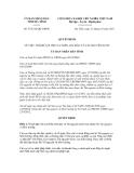 Quyết định số 57/2012/QĐ-UBND