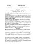 Quyết định số72/2012/QĐ-UBND