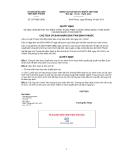 Quyết định số 2072/QĐ-UBND