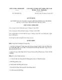 Quyết định số 1486/QĐ-TTg