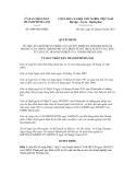 Quyết định số 4406/QĐ-UBND