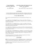 Quyết định số 1940/QĐ-UBND
