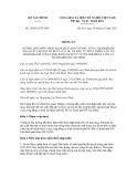 Thông tư số 185/2012/TT-BTC