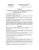 Quyết định số 32 /2012/QĐ-UBND