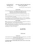 Quyết định số 2541/QĐ-UBND