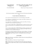 Quyết định số 62/2012/QĐ-UBNDx