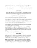 Quyết định số 2400/QĐ-BGTVT