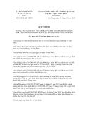 Quyết định số 33/2012/QĐ-UBND