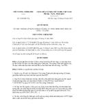 Quyết định số 1624/QĐ-TTg