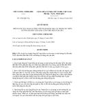 Quyết định số 1502/QĐ-TTg