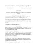 Quyết định số 2512/QĐ-BGTVT