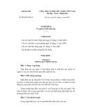 Nghị định về quản lý chất thải rắn