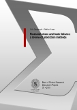 Financial crises and bank failures: a review of prediction methods