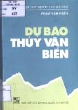 Dự báo thủy văn biển - Phạm Văn Huấn
