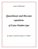 "Đề tài ""  Quasilinear and Hessian equations of Lane-Emden type """