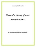 "Đề tài "" Toward a theory of rank one attractors """