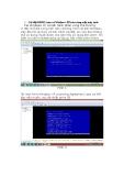 Hướng dẫn cách cài Linux và windows XP trên cùng một máy tính