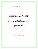 "Đề tài ""  Dynamics of SL2(R) over moduli space in genus two """