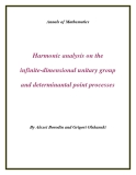 "Đề tài ""  Harmonic analysis on the infinite-dimensional unitary group and determinantal point processes """
